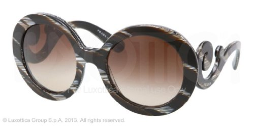 Prada SPR 27N DAS-6S1 BROWN Sunglasses SPR27N - - Pr Prada 27ns