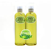 24 Oz Sesame Seed Oil Unrefined Organic Cold Pressed From The Raw Seeds Pure by Dr.Adorable (2 of 12 oz bottles)