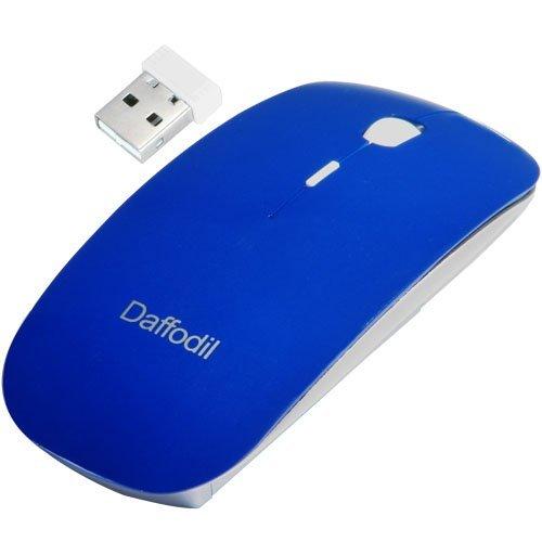 447 opinioni per Daffodil WMS500L 2.4GHz Mouse Wireless Nano con DPI regolabile, alimentato da