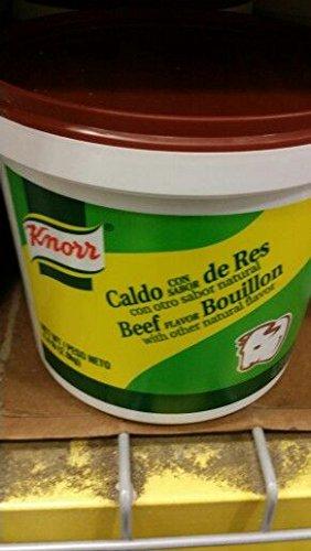 Knorr Beef Flavor Bouillon 4.4 Lb (2 Pack)