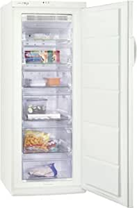 Zanussi ZFU420FW - Congelador (Vertical, Independiente, Color blanco, 180L, 20 kg/24h, 15h)