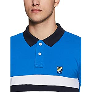 Amazon Brand – House & Shields Men's Solid Regular Fit Polo