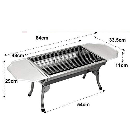 YANGLILI Grill, Stainless Steel Grill - Portable Grill - Small Grill - BBQ Folding Stove