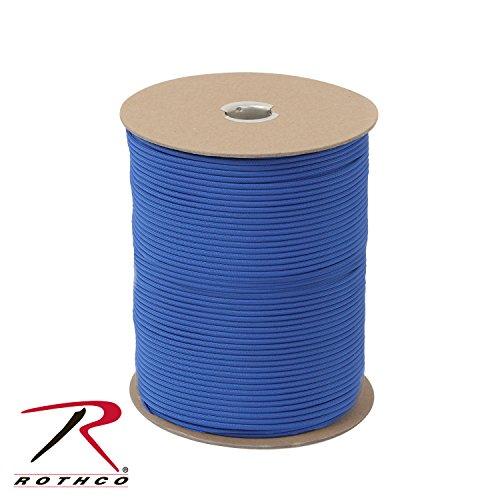 Rothco Nylon Paracord 550lb 1000 Ft Spool, Royal Blue