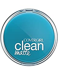 COVERGIRL Clean Matte Pressed Powder Classic Ivory Warm 510 , .35 oz