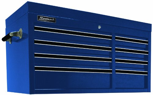 Homak 41-Inch Professional Series 8-Drawer Top Chest, Blue, (Chest Professional Series Tool Storage)