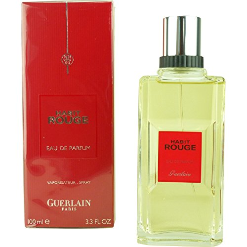 HABIT ROUGE by Guerlain MEN HABIT ROUGE-EAU DE PARFUM SPRAY 3.4 OZ
