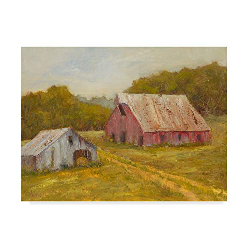 Trademark Fine Art Country Barns by Marilyn Wendling, 35x47