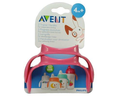 AVENT Magic Griffe 2er Set für Philips AVENT /rosa/ 0% BPA / ergonomisch geformt