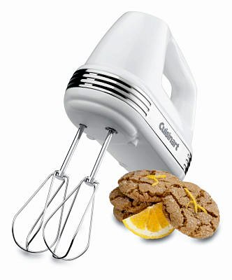 Power Advantage 5-Speed Hand Mixer in White by Cuisinart