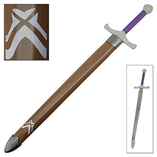 Full Tang Steel Elven Warrior Sword Wood Scabbard Longsword Replica