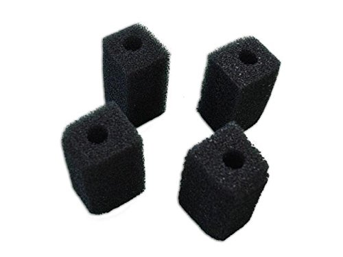 Foam Internal Filter (Bio Sponge for Penn-Plax Cascade 400 Internal Filter Foam - 4 Pack)