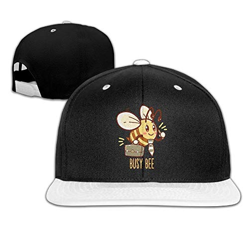 LQQWY Hip Hop Baseball Cap Busy Bee Men Women Cotton Adjustable Washed Hat