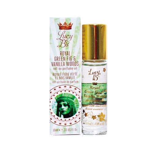 Lucy B Cosmetics Roll On, Royal Green Fig and Vanilla Woods, 0.33 Fluid Ounce ()