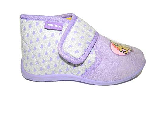 PANTILLE , Mädchen Hausschuhe violett Lilla
