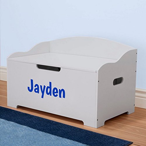 DIBSIES Personalization Station Personalized Dibsies Modern Expressions Toy Box (Gray Signature Series Boys)