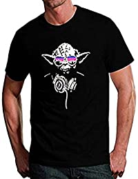 Yoda DJ Mens Comedy T-Shirt