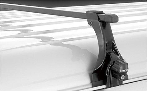 INNO トヨタ ライトエースノア スペーシャスルーフ H8.10~H13.11 R40/R50系 スクエアベースセット B072KK8F5W
