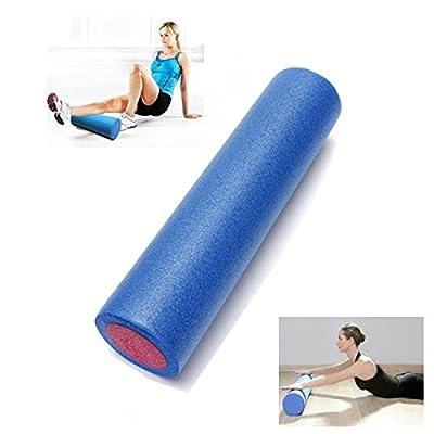 60x14.5cm Yoga Foam Roller Pilates Home Gym Massage Exercise Fitness