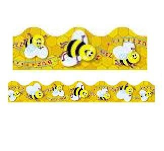 School Bees Border Trim - Buzzy Bees Terrific Trimmers