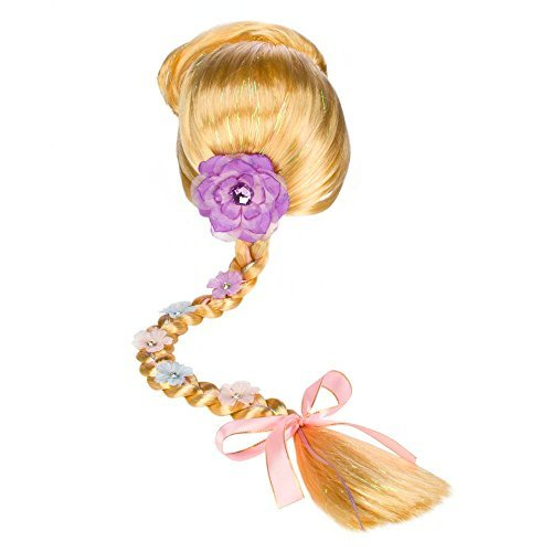 Rapunzel Halloween Costume With Wig (Disney Rapunzel Wig with)