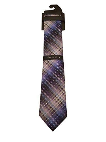 Van Heusen Men's Patterned Silk Tie - 3 1/8