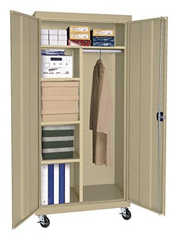 Sandusky Lee TACR362460-04 Transport Series Mobile Combination Storage Cabinet, Tropic (Series Mobile Combination Cabinet)