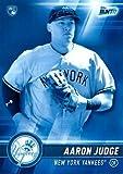 #2: 2017 Topps Bunt Blue #20 Aaron Judge Baseball Rookie Card