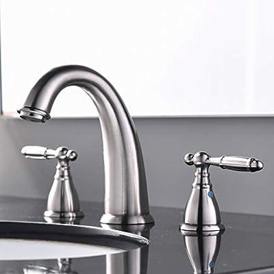 KINGO HOME Widespread Bathroom Faucet