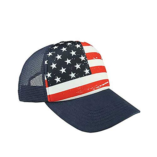 Shop4Ever USA American Flag Hat ~ 4th of July ~ Patriotic Cap ()