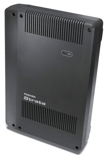 - Toshiba Strata CIX40 CIX phone system cabinet/controller with GCTU2A system processor with an AMDS3A Remote maintenance modem built/ready for 3 or 4 lines/trunks and 8 extensions/phones, includes CIX / CTX e-manager Admin software, Refurb with a ONE YEAR WARRANTY