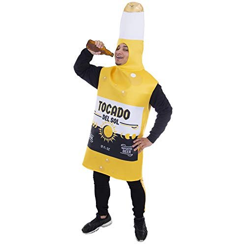 Ice Cold Beer Bottle Halloween Costume | Boozy & Boisterous, Adult Unisex]()