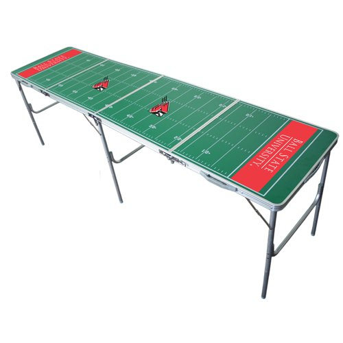 Ball State Cardinals 2x8 Tailgate Table by Wild Sports