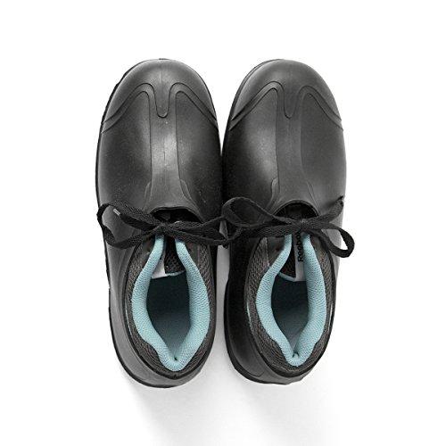 "UltraSource 440095-M PVC Overshoes, 4"", Black, Size Medium (8-9) - Image 3"
