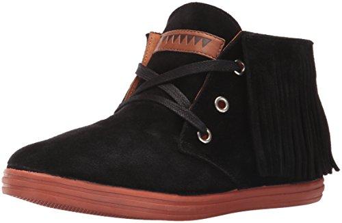 Eric Michael Womens Pocono Boot Black Nubuk