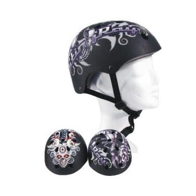 Casque de cycliste de crâne pour skater et 58–60 taille l