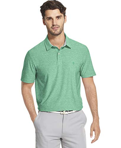 IZOD Men's Golf Title Holder Short Sleeve Polo, Florida Keys, X-Large (Izod Golf Polo)