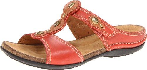 Clarks Women's Surf Sandal,Burnt Orange,5 M US