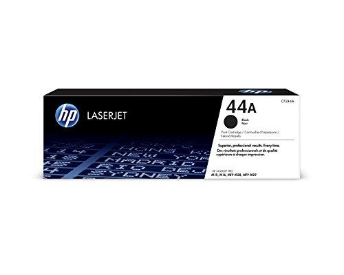 HP 44A CF244A, Negro, Cartucho Tóner Original, de 1.000 páginas, para impresoras HP LaserJet Pro M15a, M15w, MFP M28a y…
