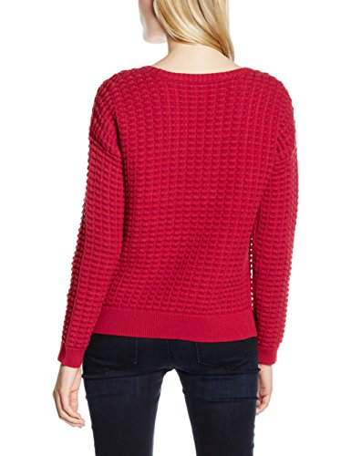 Rouge Red French Rdnk Connection Mozart Femme LS Sky Pull Popcorn wqwx84r01