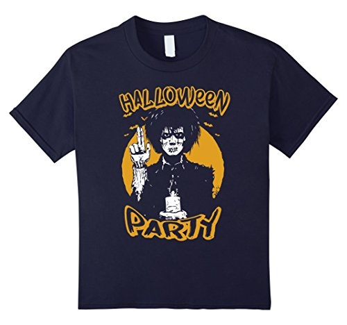Kids Halloween Party Gift T-Shirt 12 (Halloween Party Names Clever)