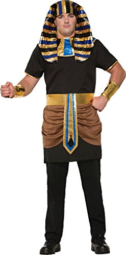 Forum Men's Pharaoh Costume, Multi, One Size (Cleopatra Couple Costume)