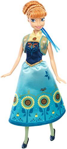 Disney Frozen Fever Anna Doll
