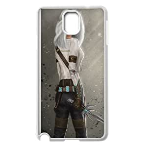 Samsung Galaxy Note 3 Cell Phone Case White The Witcher 3 Wild Hunt review Ciri G5N7LT