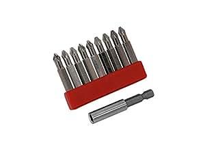 Neilsen–Juego 6en 1de puntas para destornillador -50mm ct2943
