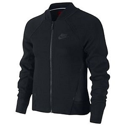 NIKE TECH FLEECE BOMBER JACKET GIRLS large by NIKE