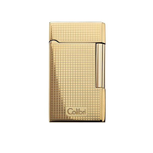 Colibri Wellington Flint Lighter - Gold w/ (Gold Lighter)