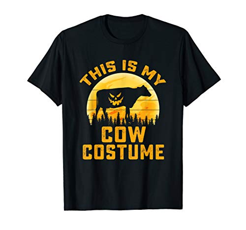 This Is My Cow Costume Halloween Gifts Men Women Girl T-Shirt