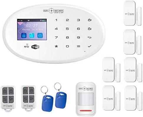 Sistema de alarma GSM y WiFi con detector de movimiento, contactos ...