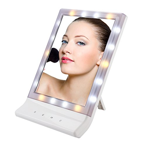 WYAO 18 LED light Makeup Mirror with 3 Different Multiple Il